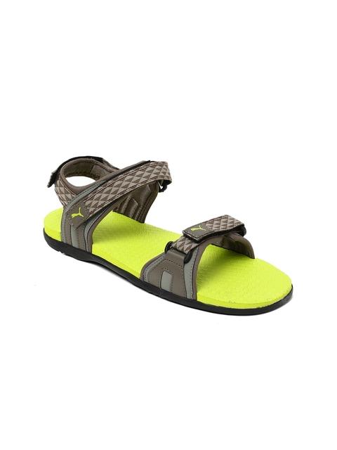 Puma Unisex Brown Sports Sandals