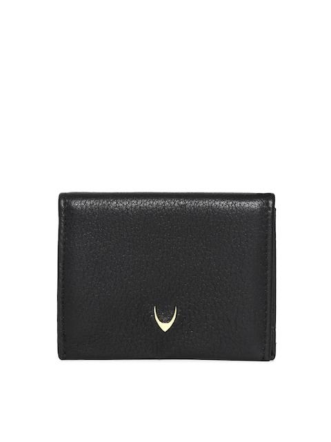 Hidesign Men Black Solid Two Fold Wallet