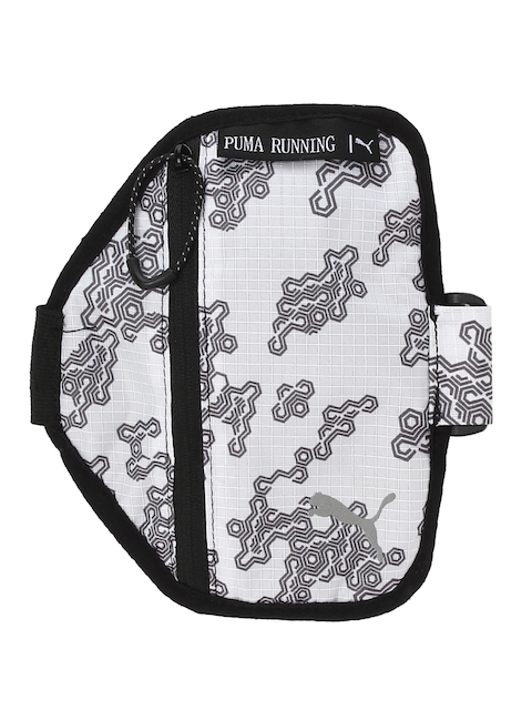 Puma White PR Arm Pocket