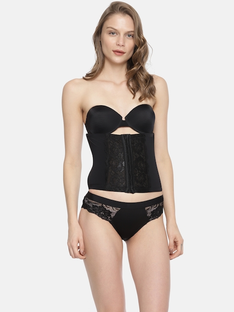 Lingerie Shop Black Lace Tummy Shaper