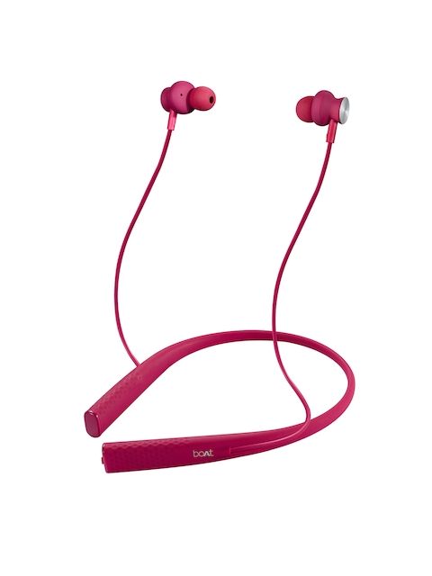 boAt Rockerz Unisex 275 Intense Pink In Ear Wireless Headphones
