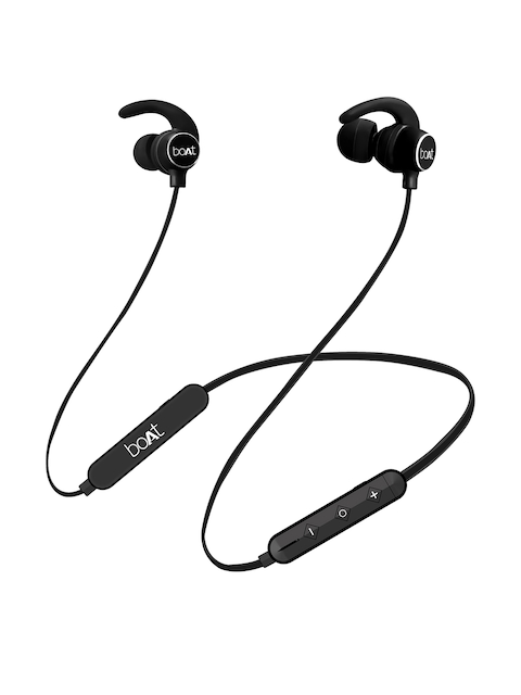 boAt Rockerz 255 Active Black In Ear Wireless Headphones