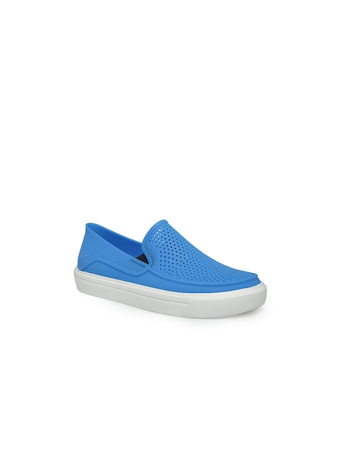Crocs Boys Blue Loafers