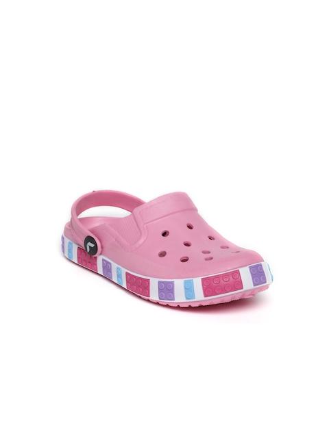 Kittens Girls Pink Clogs