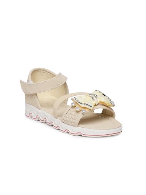 Kittens Girls Beige Comfort Sandals