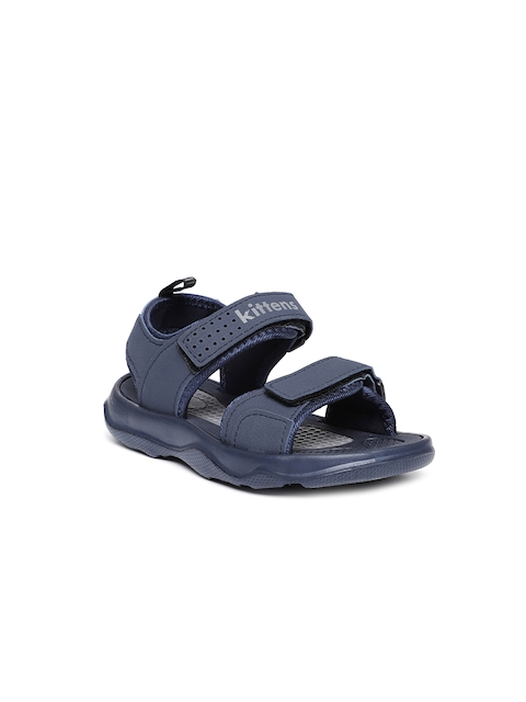 Kittens Boys Navy Blue Comfort Sandals