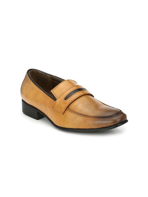 Guava Tan Brown Formal Slip-Ons