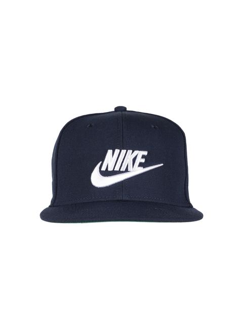 Nike Unisex Navy Blue Solid Snapback Cap