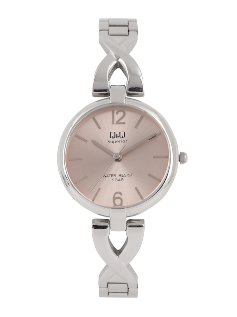 Q&Q Women Pink Analogue Watch S297J212Y