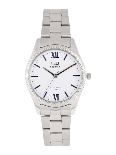 Q&Q Women White Analogue Watch S295J211Y