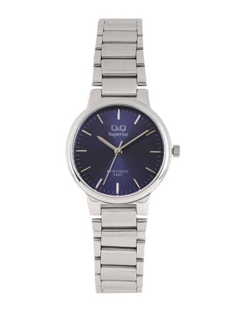 Q&Q Women Navy Blue Analogue Watch S283J202Y