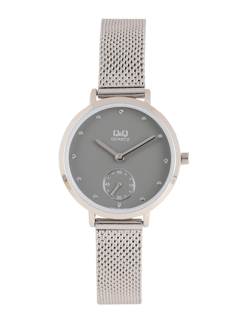 Q&Q Women Grey Analogue Watch QA97J202Y
