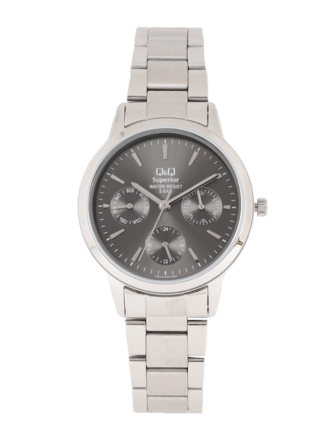 Q&Q Women Grey Analogue Watch S303J202Y
