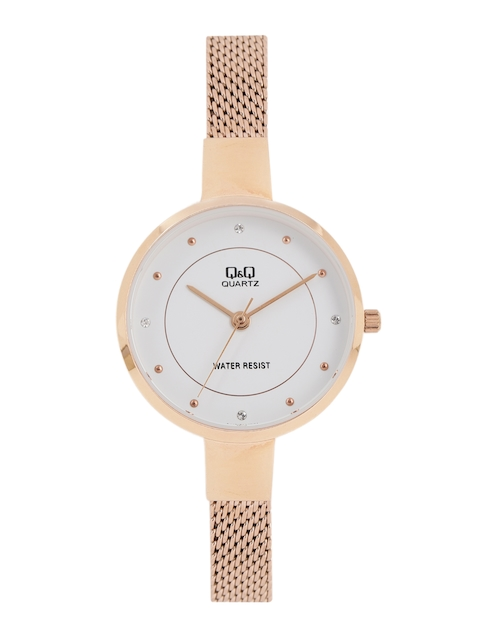 Q&Q Women White Analogue Watch QA17J011Y