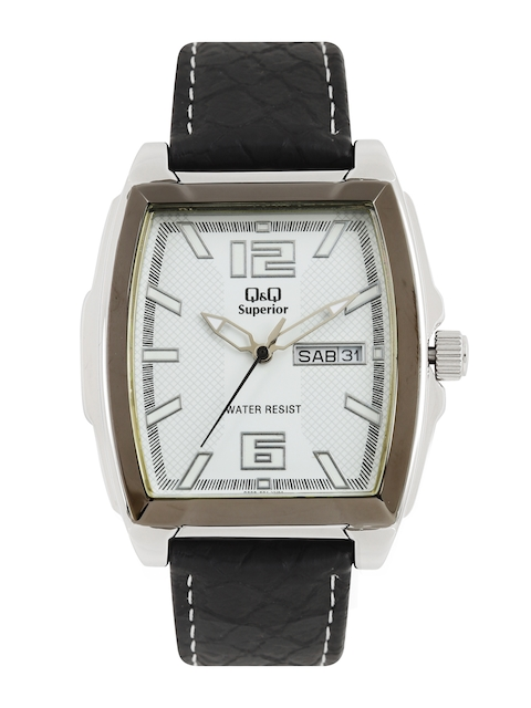Q&Q Women White Analogue Watch S208-501Y