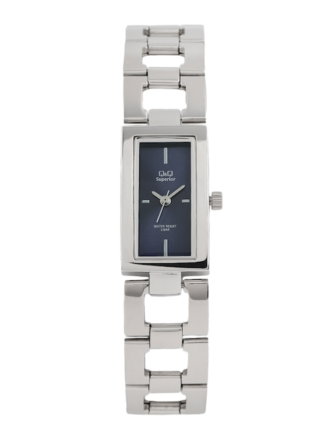 Q&Q Women Blue Analogue Watch S299J212Y