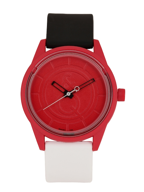 Q&Q Women Red Analogue Watch RP00J007Y