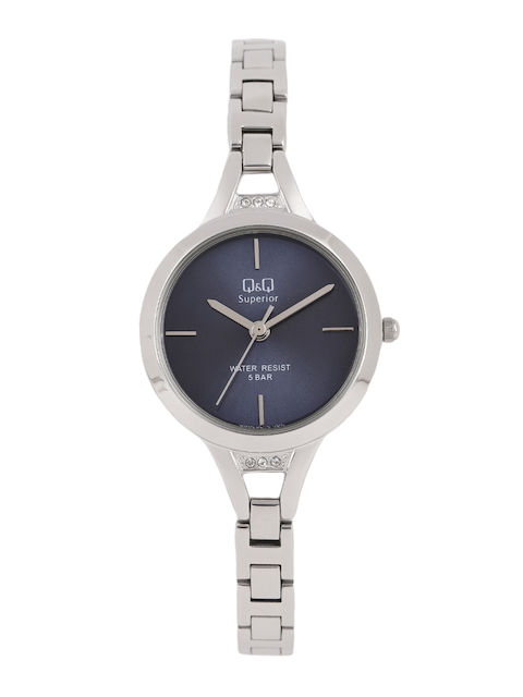 Q&Q Women Navy Blue Analogue Watch S305J212Y
