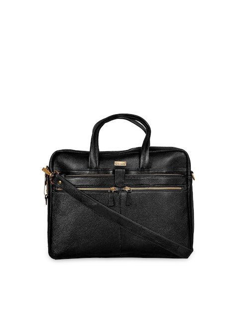 SCHARF Unisex Black Sir Bernard Lut Modern Trade Laptop Bag