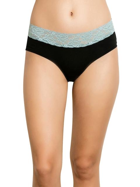 Zivame Women Assorted Lace Basic Briefs ZI2214FASHGREEN