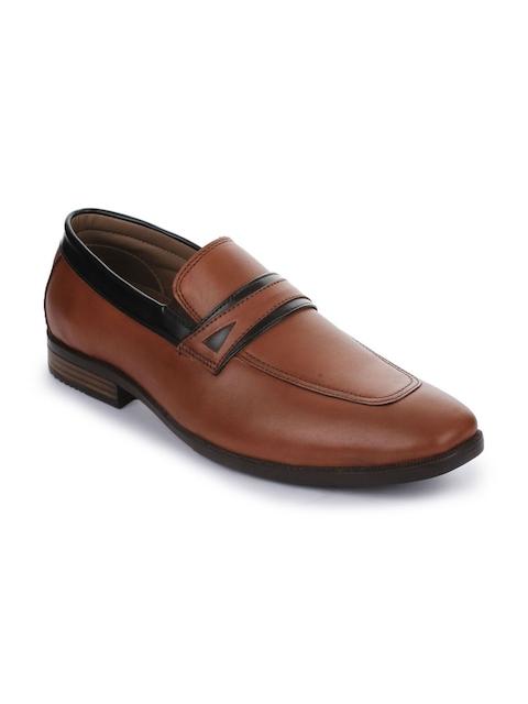 Liberty Men Tan Brown Formal Slip-on Shoes
