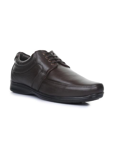 Liberty Men Brown Oxford Formal Shoes