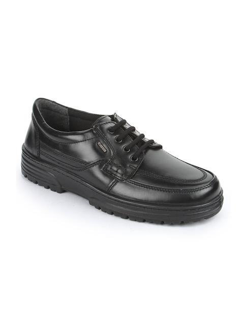 Windsor By Liberty Men Black Leather Formal Derbys