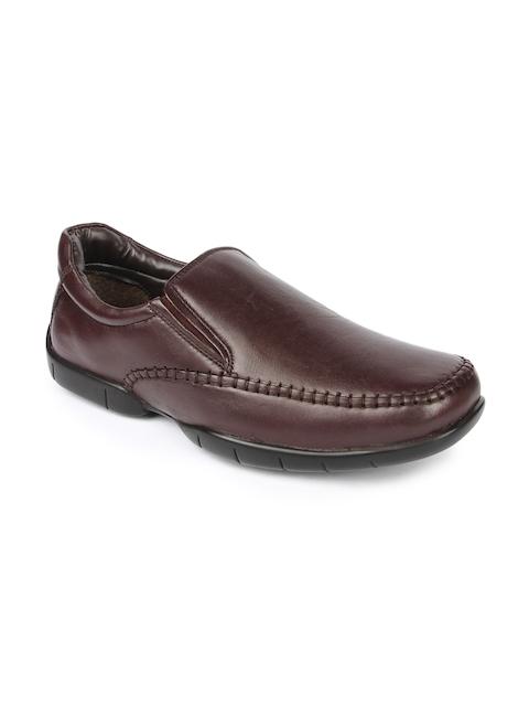 Fortune Men Brown Semiformal Shoes