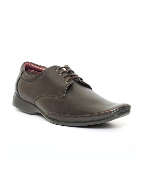 Fortune By Liberty Men Brown Formal Shoes