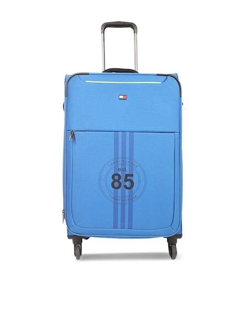 Tommy Hilfiger Unisex Blue Large Trolley Bag