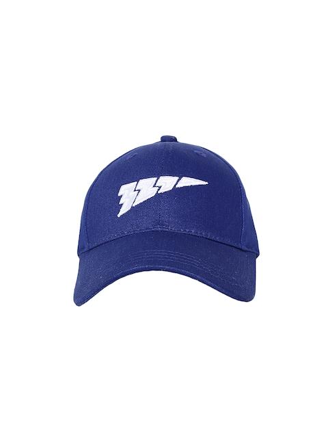 321 Sportswear Unisex Blue Solid Speed Baseball Cap