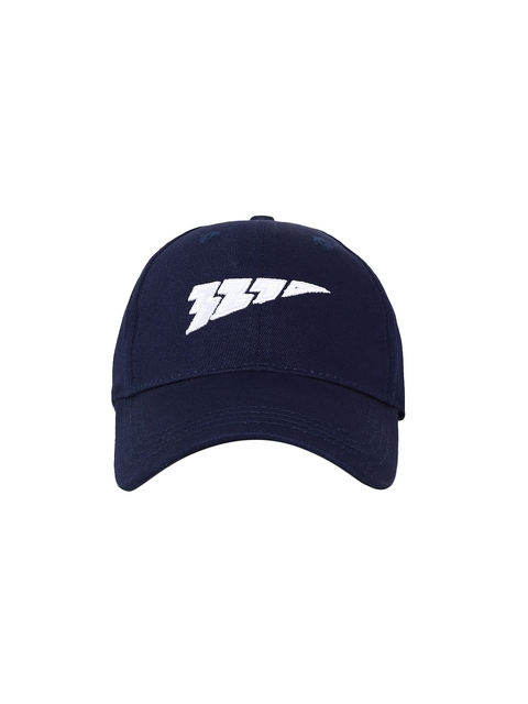 321 Sportswear Unisex Navy Blue Solid Speed Baseball Cap