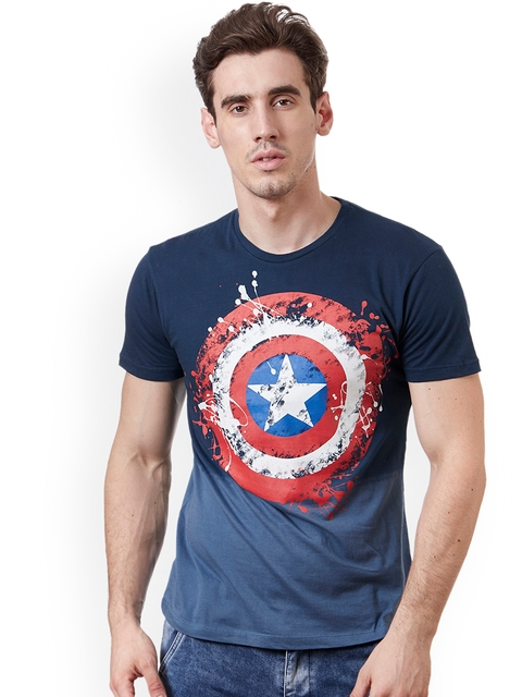 dbca4a576 Captain America Men T-Shirts   Polos Price List in India 24 March ...