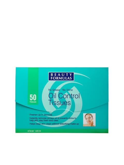 Beauty Formulas Clear Skin Oil Control Tissues