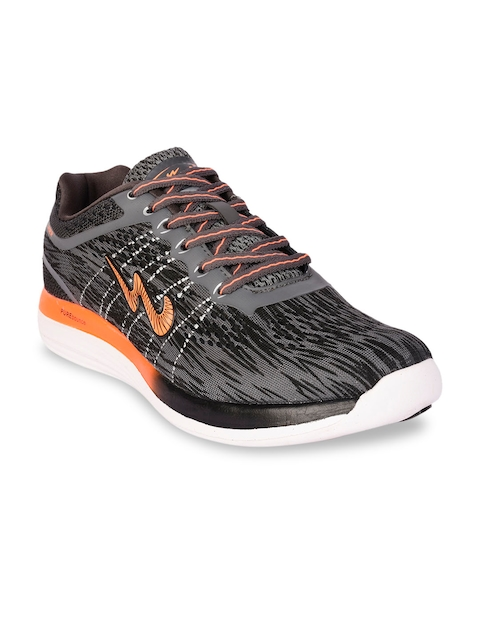 Campus Men Grey Running Shoes