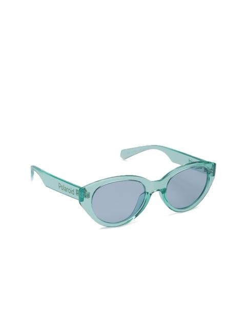 Polaroid Women PLD 6051/G/S TCF 52C3 Oval Sunglasses