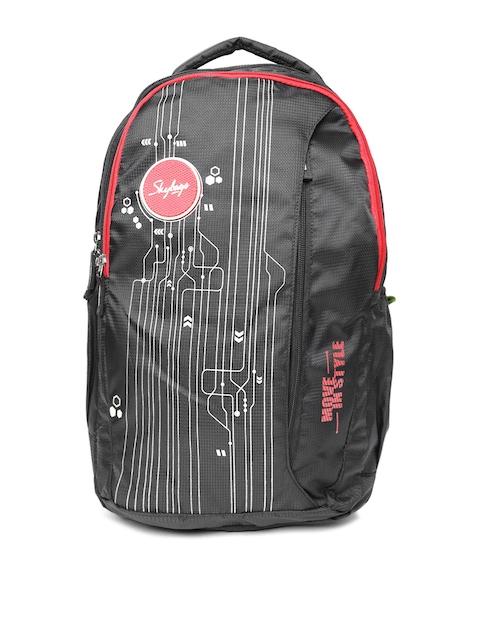 Skybags Unisex Black Spark 2 Backpack
