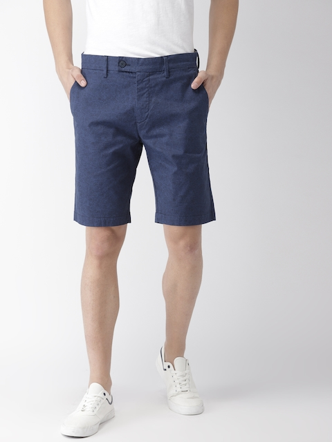 Levis Men Blue Printed Regular Fit Regular Shorts