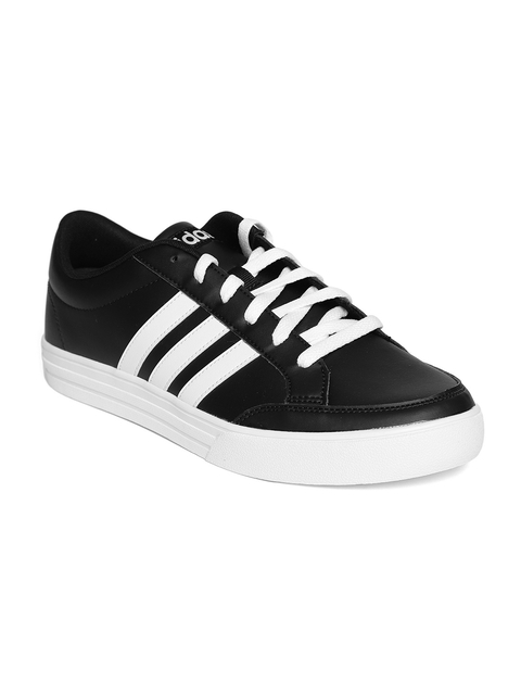 Adidas Men Black VS Set Tennis Shoes