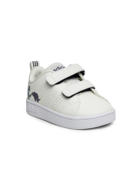 Adidas Boys Off-White VS ADV CL CMF INF Tennis Shoes