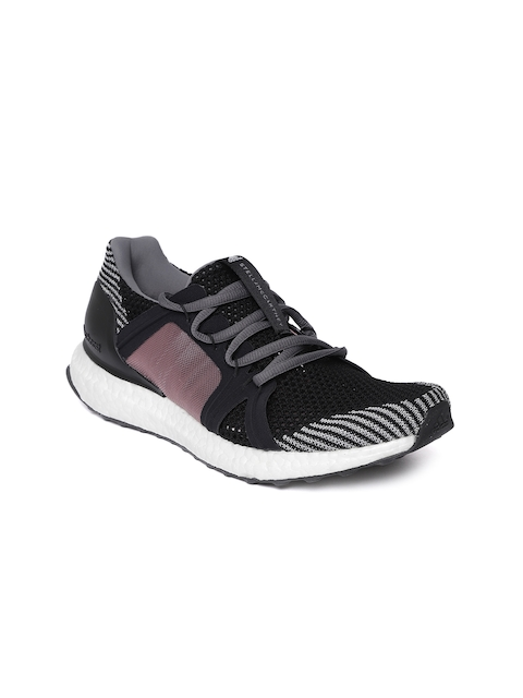 Adidas by Stella McCartney Women Black & Pink Ultraboost Running Shoes