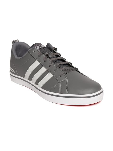 Adidas Men Grey VS Pace Basketball Shoes