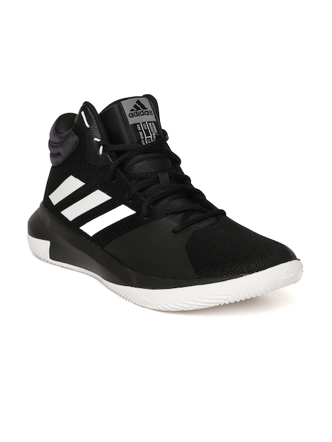Adidas Men Black Pro Elevate 2018 Basketball Shoes