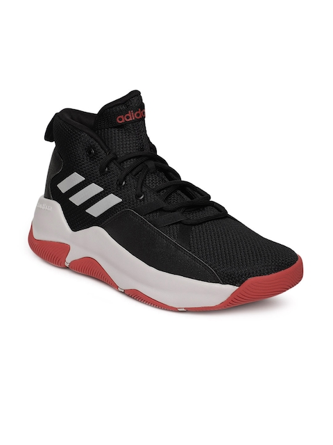 Adidas Men Black STREETFIRE Basketball Shoes