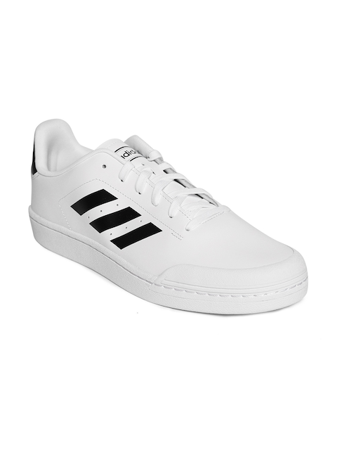 Adidas Men White Court70S Tennis Shoes