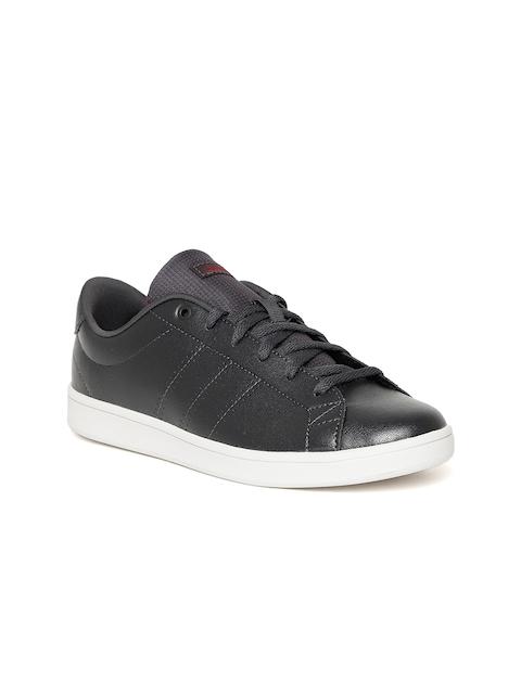 Adidas Women Black Advantage Clean QT Tennis Shoes