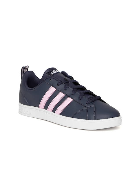 Adidas Women Navy Blue VS Advantage Tennis Shoes