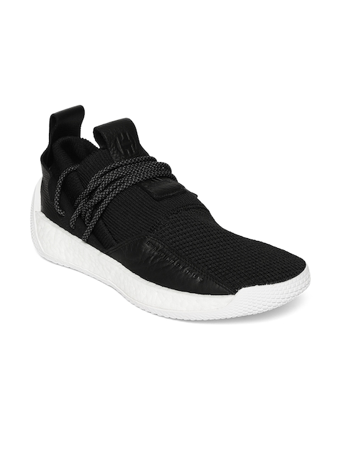 Adidas Men Black Harden LS 2 Lace Basketball Shoes