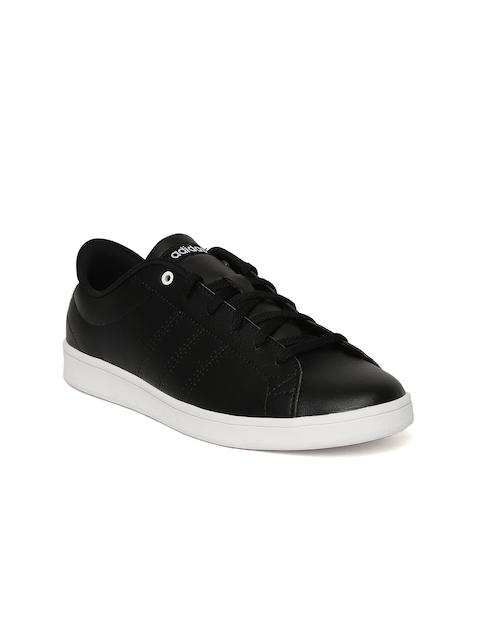 Adidas Women Navy Advantage Clean QT Tennis Shoes