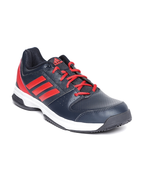 Adidas Men Navy Hase Tennis Shoes